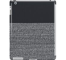 Riverside Black iPad Case/Skin