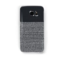 Riverside Black Samsung Galaxy Case/Skin