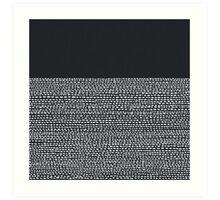 Riverside Black Art Print