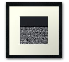 Riverside Black Framed Print