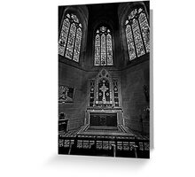 The Lady Chapel Greeting Card