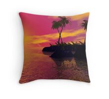 LOVERS IN KONA Throw Pillow