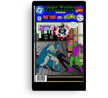 Batman Vs Green Goblin Canvas Print
