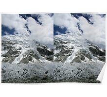 Nuptse and Everest Pinnacles 3D Poster