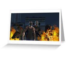 GTA 5 - fort zancudo take over Greeting Card