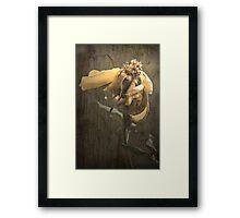 Rust 'n Roses ~  #5 Framed Print