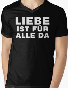 Liebe Ist Für Alle Da Mens V-Neck T-Shirt