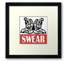 Pinky Swear Framed Print
