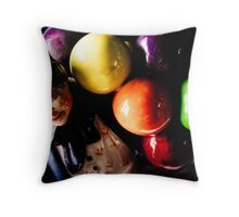 Biddy Penny Farthing Throw Pillow