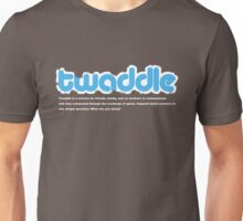 Twitter? Think it's a load of Twaddle? Unisex T-Shirt