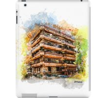 Athens architecture iPad Case/Skin