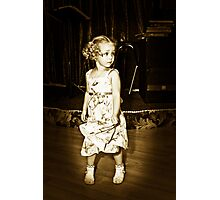 Shirley Temple????? Photographic Print