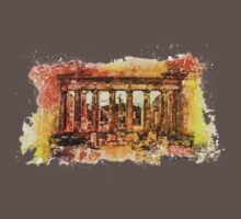 The Acropolis Of Athens Baby Tee