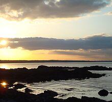 Skerries Sunset 5  by Siobhain