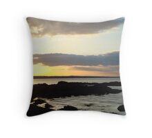Skerries Sunset 5  Throw Pillow