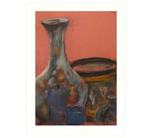 Vase and other things Art Print