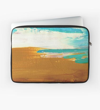 Dockweiler Beach Laptop Sleeve