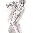 Miles Davis by Max Alessandrini