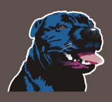Staffy by Bloomin'  Arty Tees