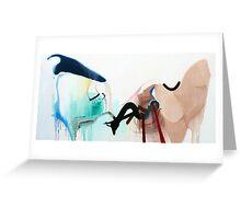 Abstract #9 Greeting Card