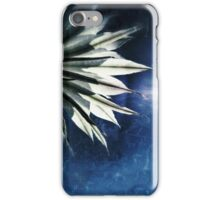 Flower on Blue iPhone Case/Skin