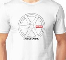 Wheel - TE37SL Unisex T-Shirt