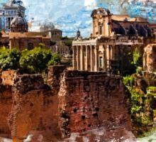 Rome architecture Sticker