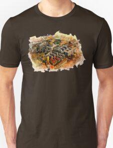 Rome aerial art T-Shirt