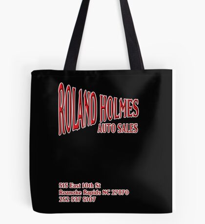 ROLAND HOLMES RED  Tote Bag