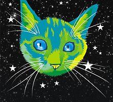 Planet Kitten (poster) by Matt Mawson