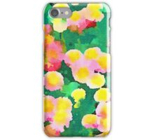 Daisy Patch - Abstract Watercolor Floral iPhone Case/Skin