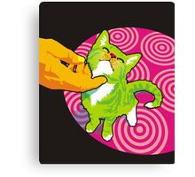 scritch Canvas Print