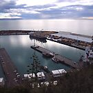 Napier Port at dusk by medley