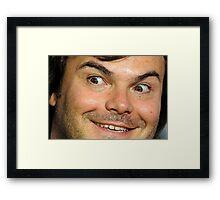 Blessed Jack Black Eyebrow Framed Print