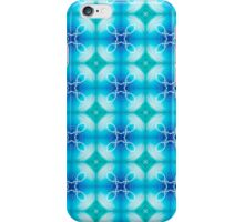 "Texture ""east pattern"" the blue iPhone Case/Skin"