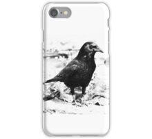 Scavenging Crow iPhone Case/Skin