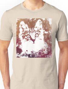 White kitty Unisex T-Shirt