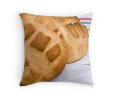 Loaves of bread Throw Pillow