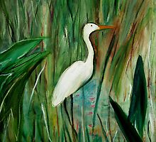 Egret by Daneann