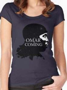 omar comin yo! Women's Fitted Scoop T-Shirt