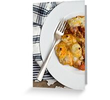Tuscan Shepherd's Pie Greeting Card