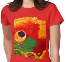 The Vampires...From Planet Bellini... Womens Fitted T-Shirt