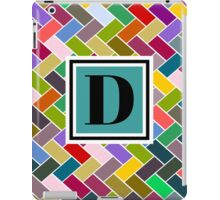 D Monogram iPad Case/Skin