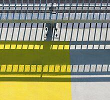 Square Yellow Zone by Colin S Pearson