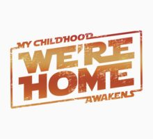 We're Home (red White) Kids Clothes