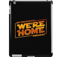 We're Home (red White) iPad Case/Skin