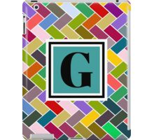 G monogram iPad Case/Skin