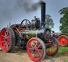 Steam Traction Engine by David Tait