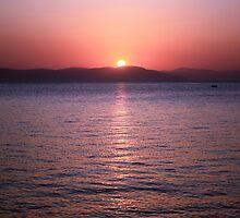 Aegean Sunrise by BettinaSchwarz