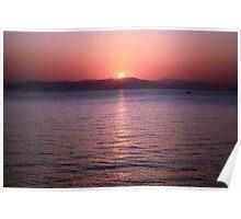 Aegean Sunrise Poster